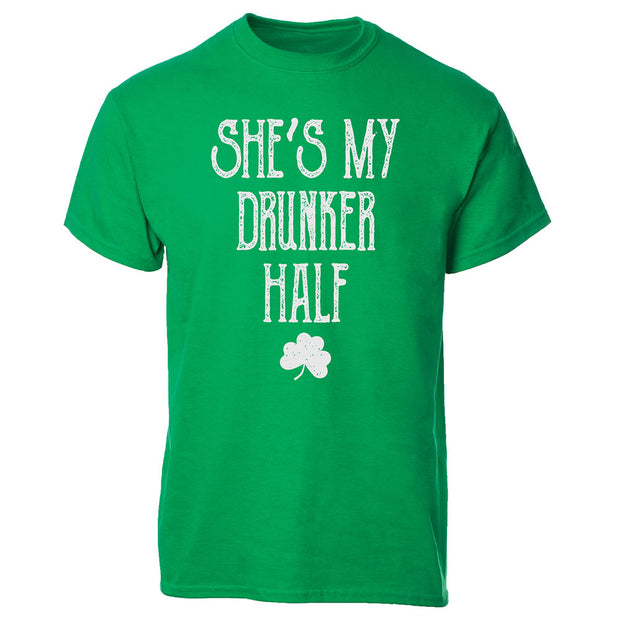 She's My Drunker Half T-shirt