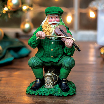 Irish Santa with Fiddle