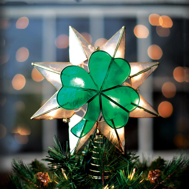 Shamrock Tree Topper