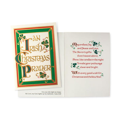 An Irish Christmas Prayer Card