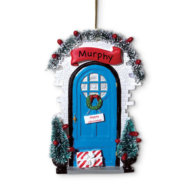 2018 Personalized Door Ornament