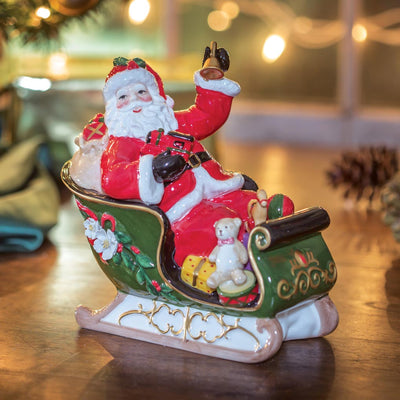 Musical Santa on Sleigh