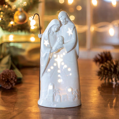 Belleek Nativity Luminary