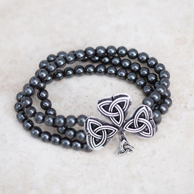 Shamrock Stretch Bracelet