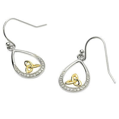 Teardrop Trinity Earrings