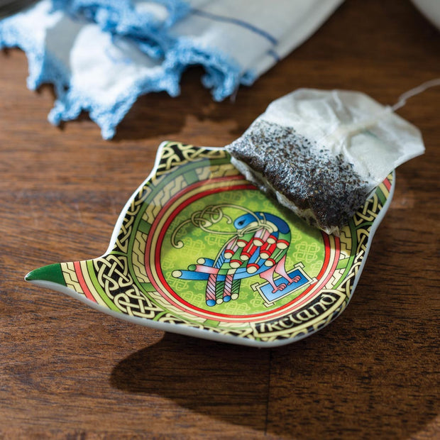 Peacock Tea Bag Holder