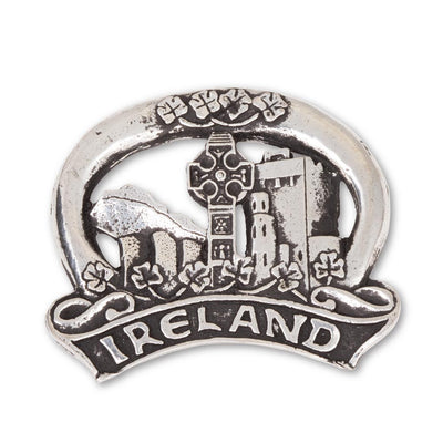Pewter Ireland Magnet