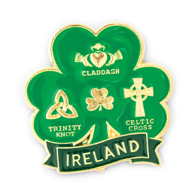 Irish Symbols Magnet