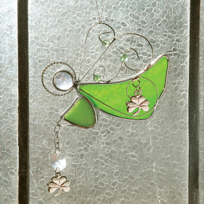 Angel Glass Suncatcher