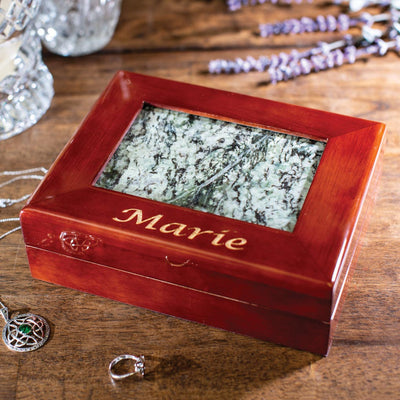 Connemara Marble Jewelry Box
