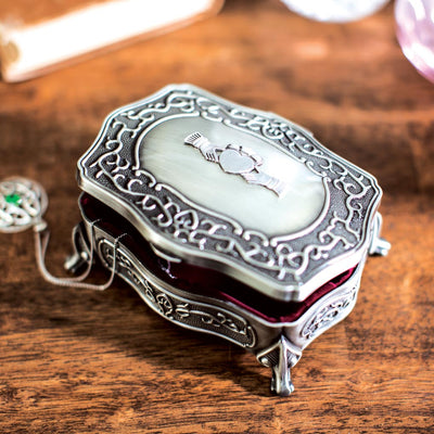 Pewter Jewelry Box