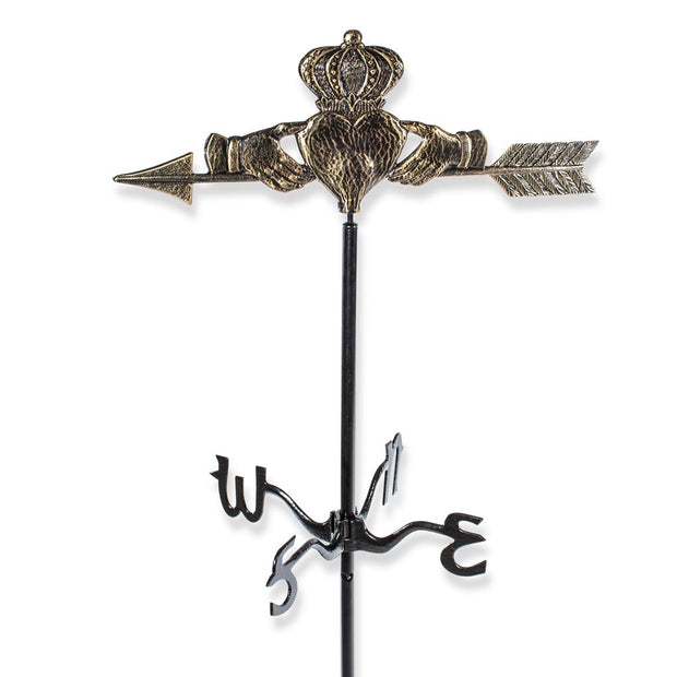 Claddagh Garden Weathervane Stake