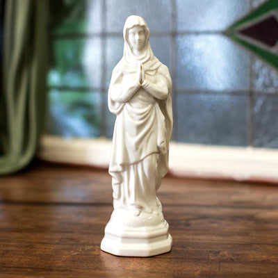 Belleek Blessed Virgin Mary Statue