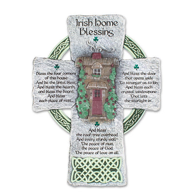 Irish Home Blessing Cross