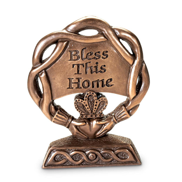 Bless This Home Bronze Plaque