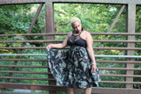 Army Green Camo Short Wrap- Full and Fabulous