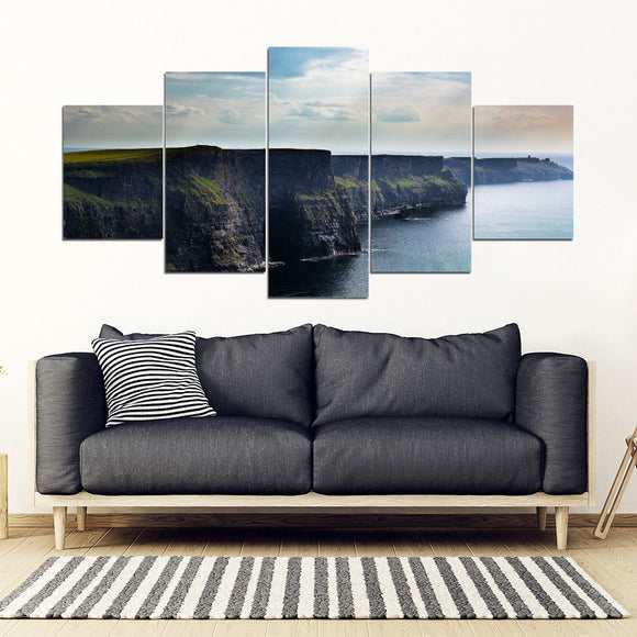 Cliffs of Moher - (5 Pc Wall Picture)