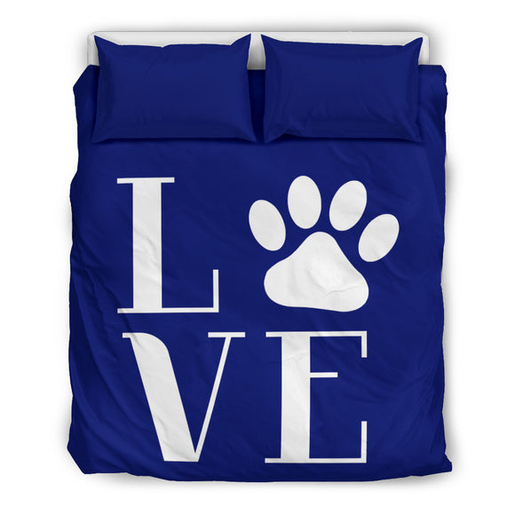 NP Love Dogs Bedding Set