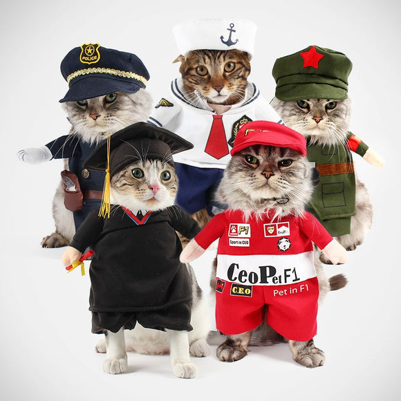 Occupational Dog & Cat Costumes