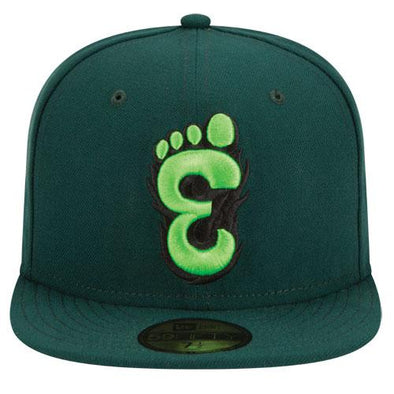 Eugene Emeralds New Era Discontinued On-Field Alternative Fitted Cap