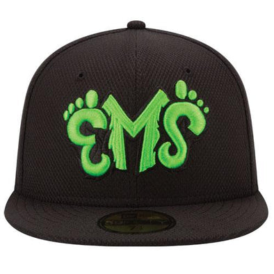 Eugene Emeralds New Era Discontinued On-Field Batting Practice Fitted Cap