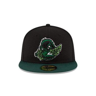 Eugene Emeralds New Era On-Field Road Fitted Cap