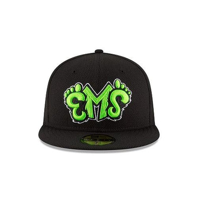 Eugene Emeralds New Era On-Field Batting Practice Fitted Cap