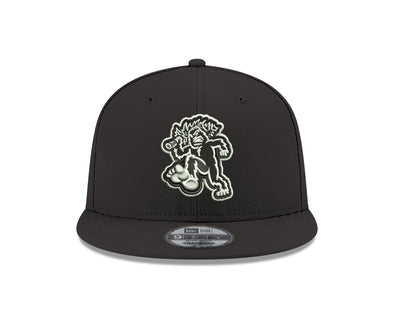 Eugene Emeralds Black & White Snapback