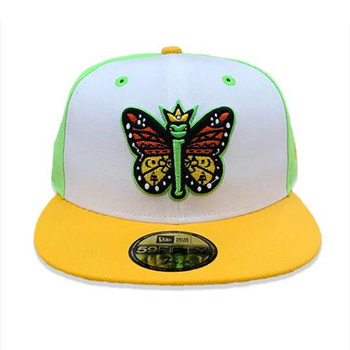 Eugene Emeralds New Era Los Monarcas Fashion Fitted Cap