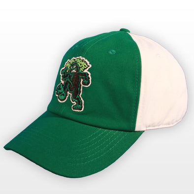 Eugene Emeralds Green and White Adjustable Cap