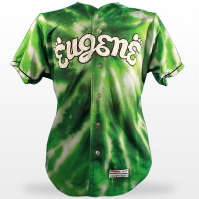 Eugene Emeralds 2013 - 2015 Tie Dye Away Jerseys