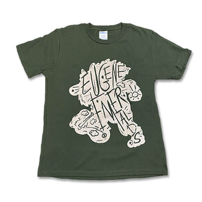 Eugene Emeralds Youth Squatch Scratch Tee