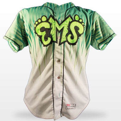 Eugene Emeralds 2013 - 2014 Rain Home Jerseys
