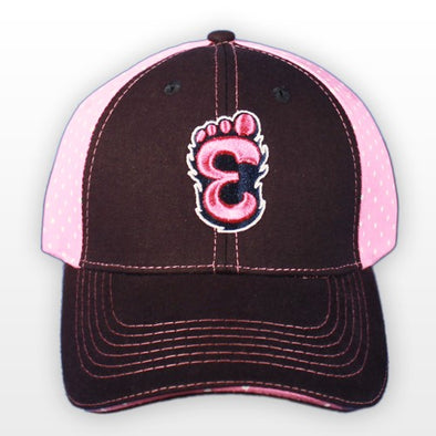 Eugene Emeralds Youth Pink Polkadot Cap