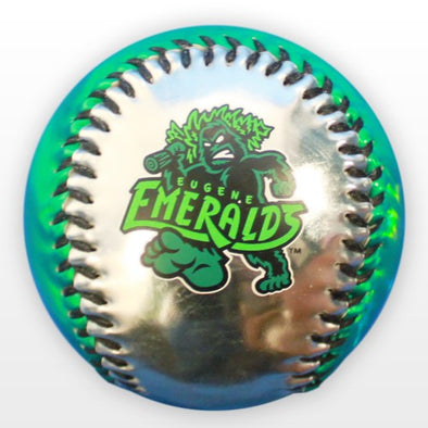 Eugene Emeralds Metallic Baseball