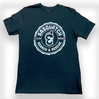 Eugene Emeralds Youth Squatch & Rescue Tee