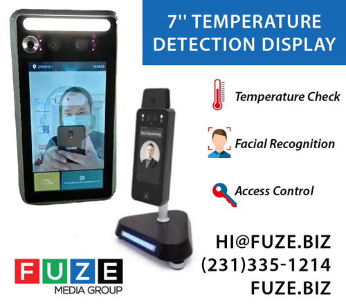 Temperature & Facial Recognition Kiosk
