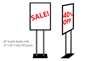 vinyl banners with stands