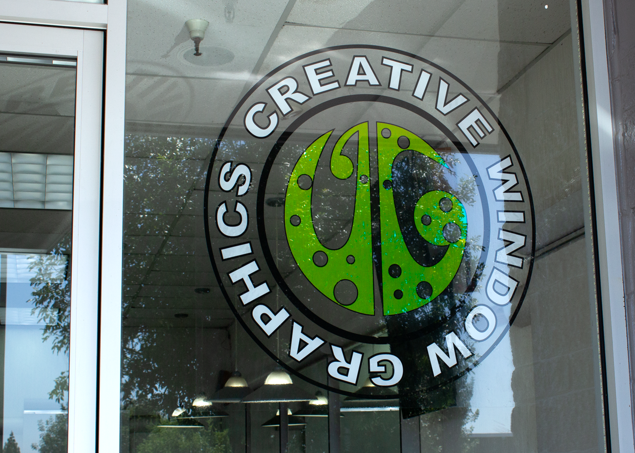 window cling, window graphics, decals