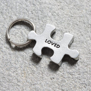 I am Loved Puzzle Charm