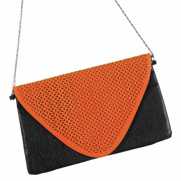 Orange Envelope Purse