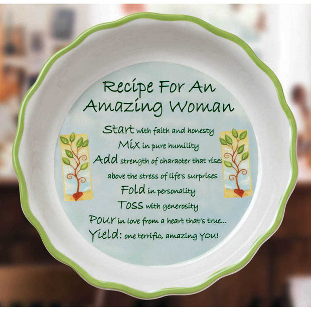 Amazing Woman Dish