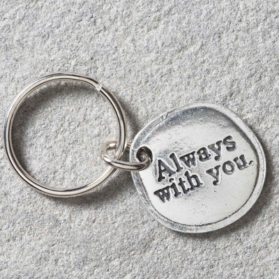 Always with You Key Ring