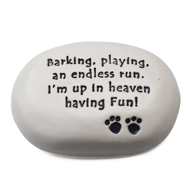 Dog in Heaven Stone
