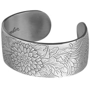 Birth Flower of the Month Cuff