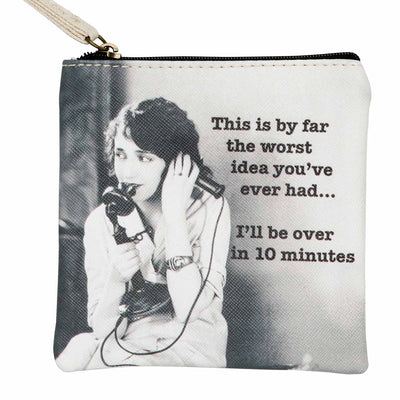 Worst Idea Coin Purse