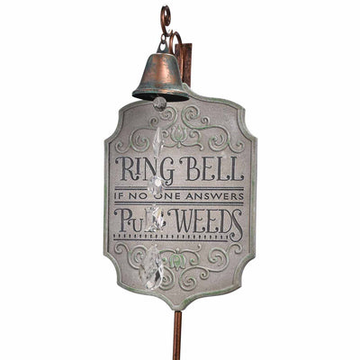 Ring Bell Plaque Stake