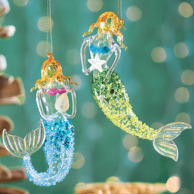 Mermaid Ornaments