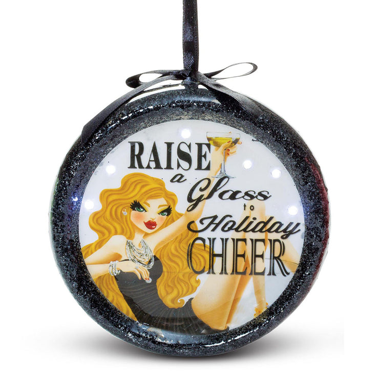 Raise a Glass Ornament