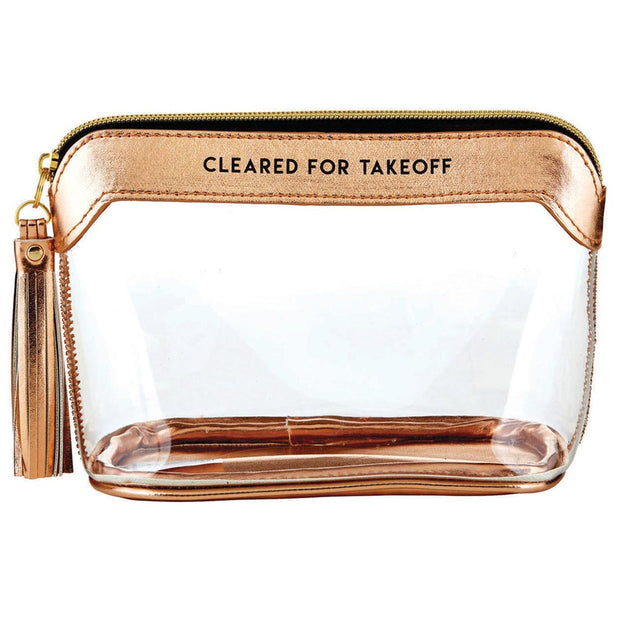 Cleared for Takeoff Clear Pouch